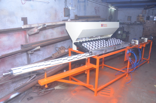 BOPP Tape Slitting Core Cutter and Core Loader Machine