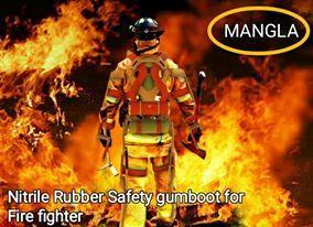 Fire Fighting Gumboot