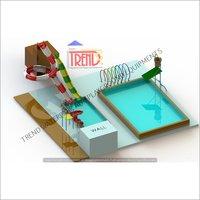 water slide combination