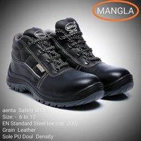 Mangla Leather Safety Shoe