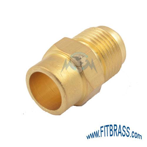 Brass Condenser Union