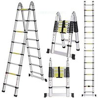 Double Telescopic Ladder 2.5+2.5
