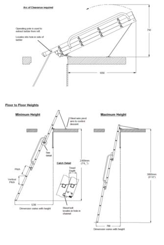 Loft Ladder Easyway