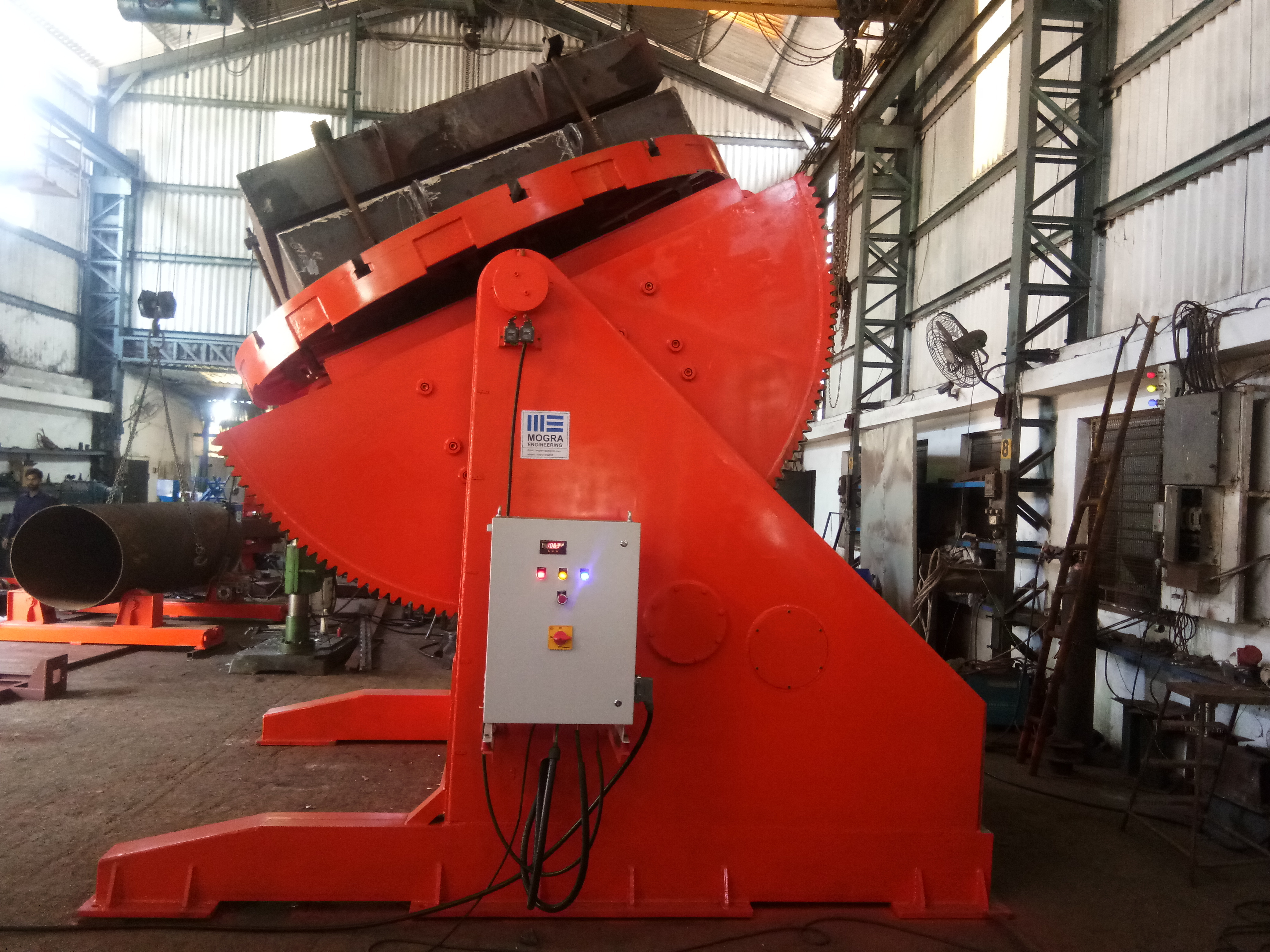 30 MT CAPACITY WELDING POSITIONER