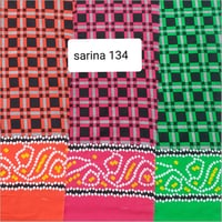 Silk Cotton Printed Fabric
