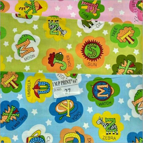 Born Baby Kids Printed Fabrics