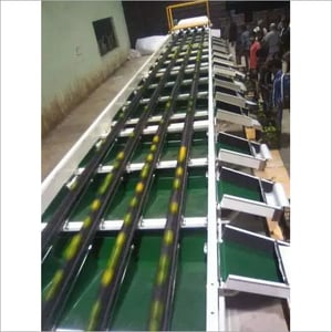 ELECTRONIC FRUIT GRADING LINE FOR APPLE AND OTHER ROUNDED FRUITS