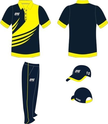 Customized Printed Cricket Uniform