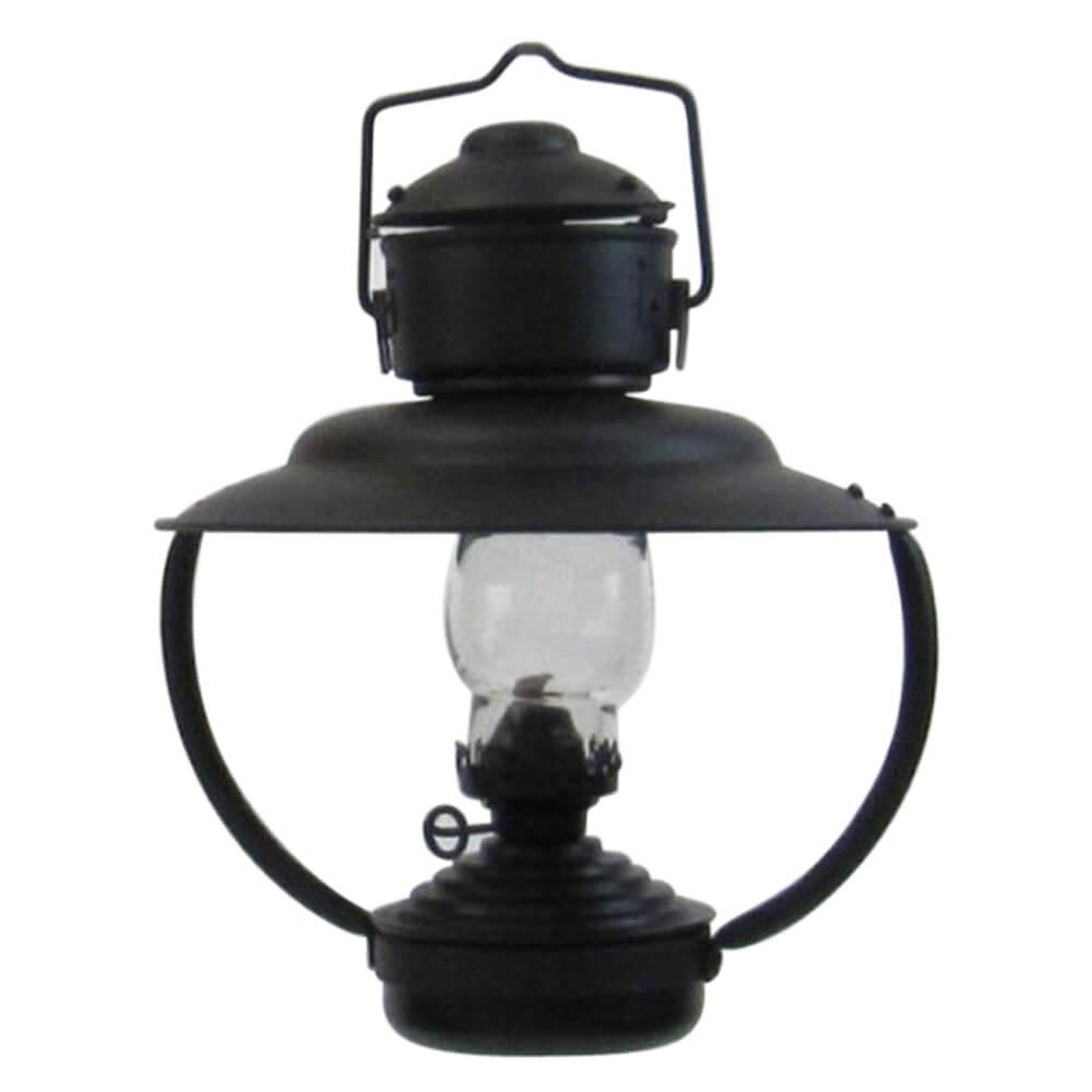 Iron Trawler Oil Lamp Black Finish