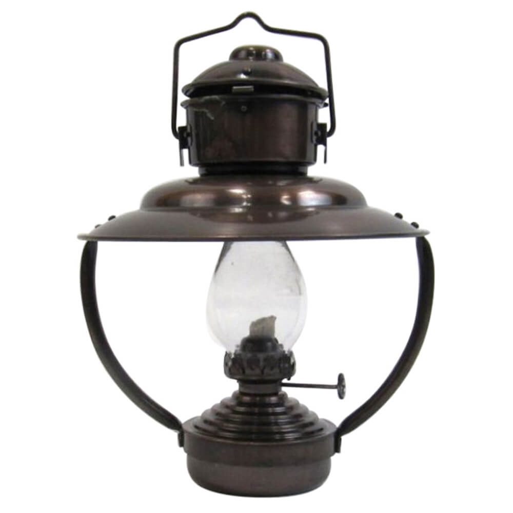 Iron Trawler Oil Lamp Antique Finish