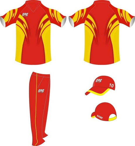 Coloured Cricket Uniforms