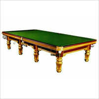 Steel Cushion Snooker Table