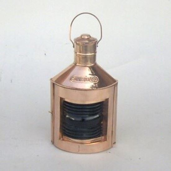 Port Red)Ship Lantern with Oil Lamp Copper