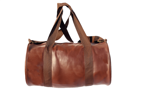 Leather Gym Bag