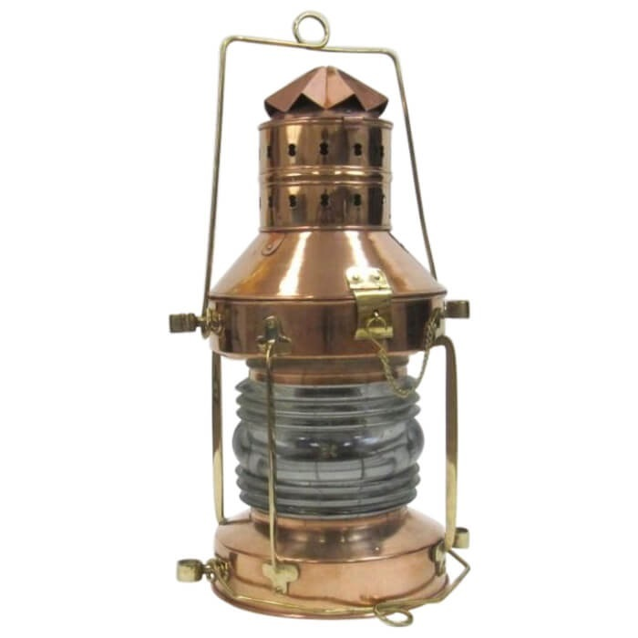 Large Anchor Lamp Copper / Brass