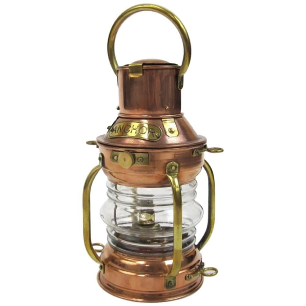 Copper Ship Light Oil Lamp