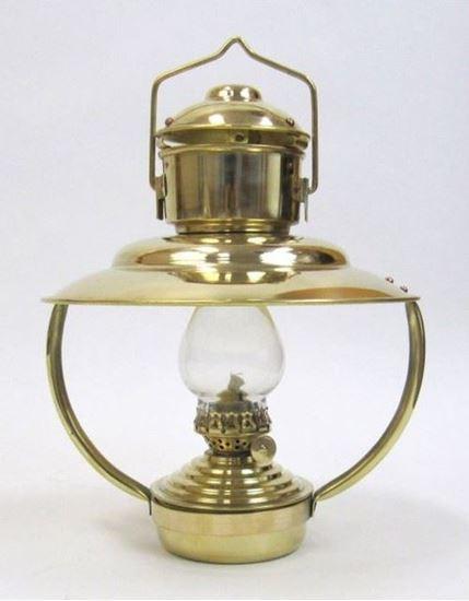Solid Brass Trawler Oil lamp