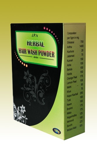 J.P.'s Herbal Hair Wash Powder