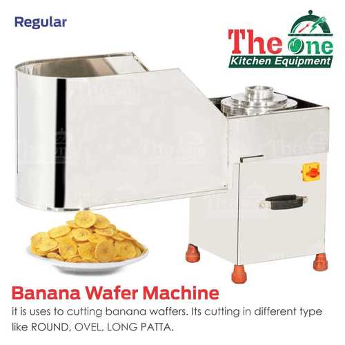 BANANA WAFER MACHINE