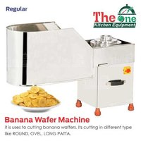 BANANA WAFER MACHINE