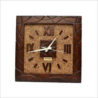 Decorative Square Shape Wall Clock