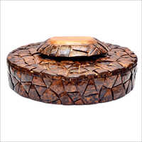 Round Shape Dryfruit Box
