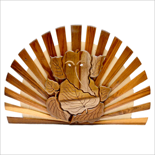 Wooden Wall Hanging Ganesha
