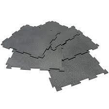 puzzle lock rubber interlocking mats