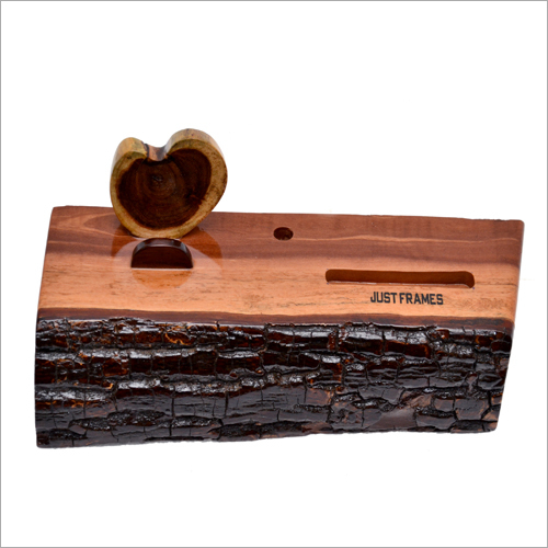 Office Wooden Table Top Holder