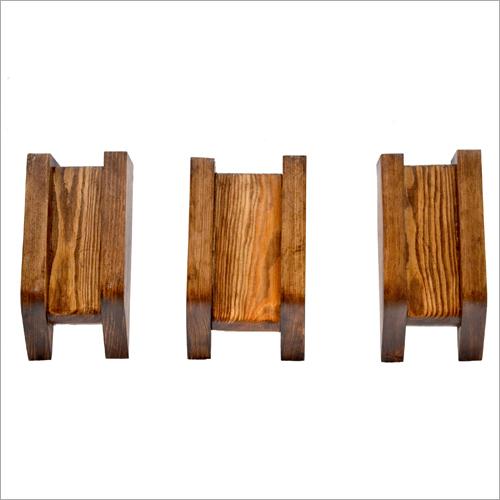 Decorative Wooden Wall Hanging Pot