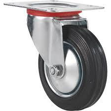 rubber casters