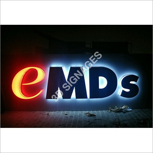 LED Light 3D Signage