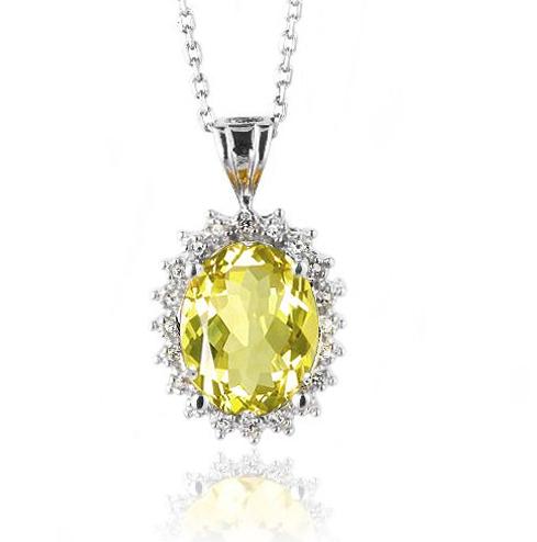 Silver & Diamond Pendant