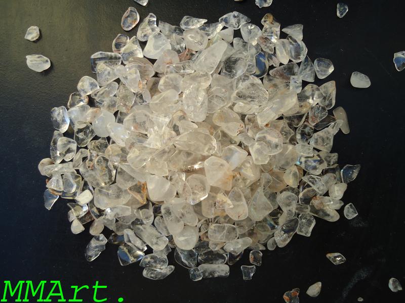Precious Stone Quartz Polished Crystal Pebbles & Crystal Chips