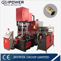 Vertical Hot Forging Press Machine for Brass Two Way LPG Valve