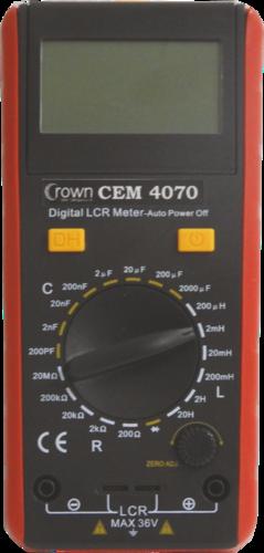 CROWN CEM 4070 MULTIMETER