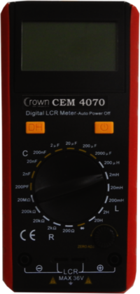 CROWN CEM 4070 MULTIMETER