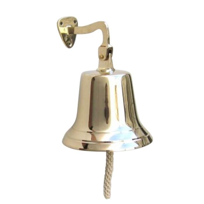 Solid Brass Heavy Bracket Bell