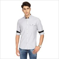 Mens Small Stylish Check Shirt