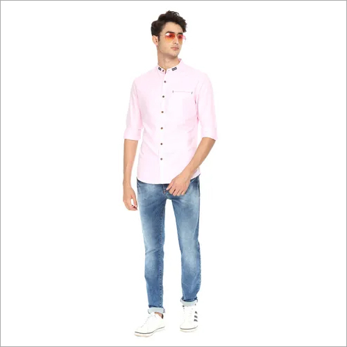 Mens Solid Shirts