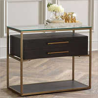 2 Drawers Aria Nightstand