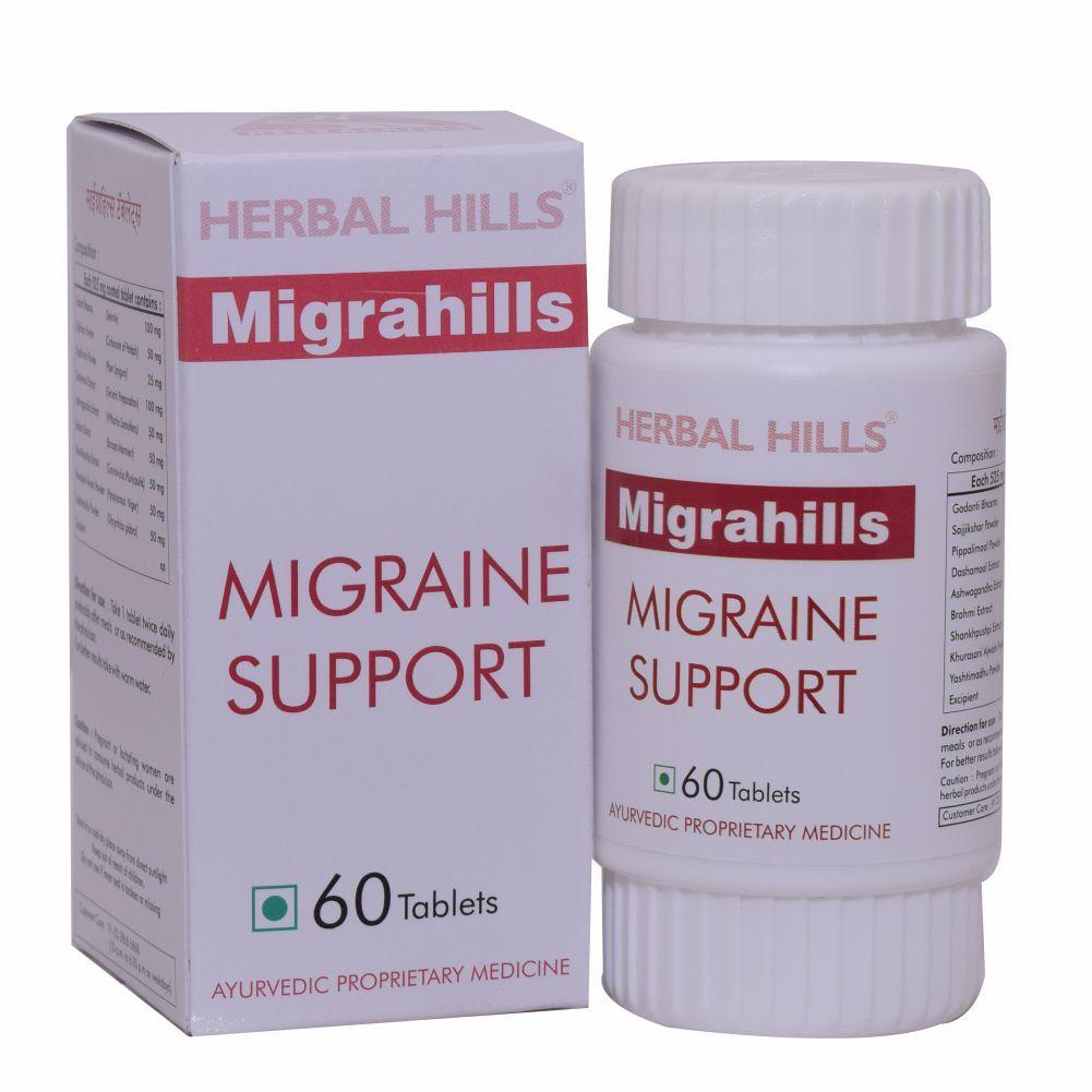 ayurvedic medicines for migraine - Migrahills 900 Tablets