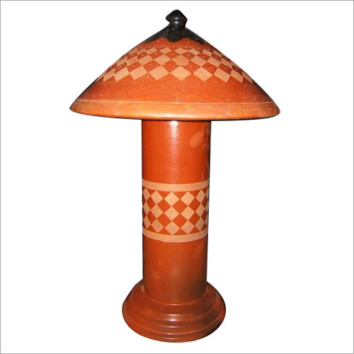 Terracotta Lamp Stand
