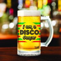 Disco Dancer | 600ml - Yedaz Matte Finish Glass Bollywood Beer Mug