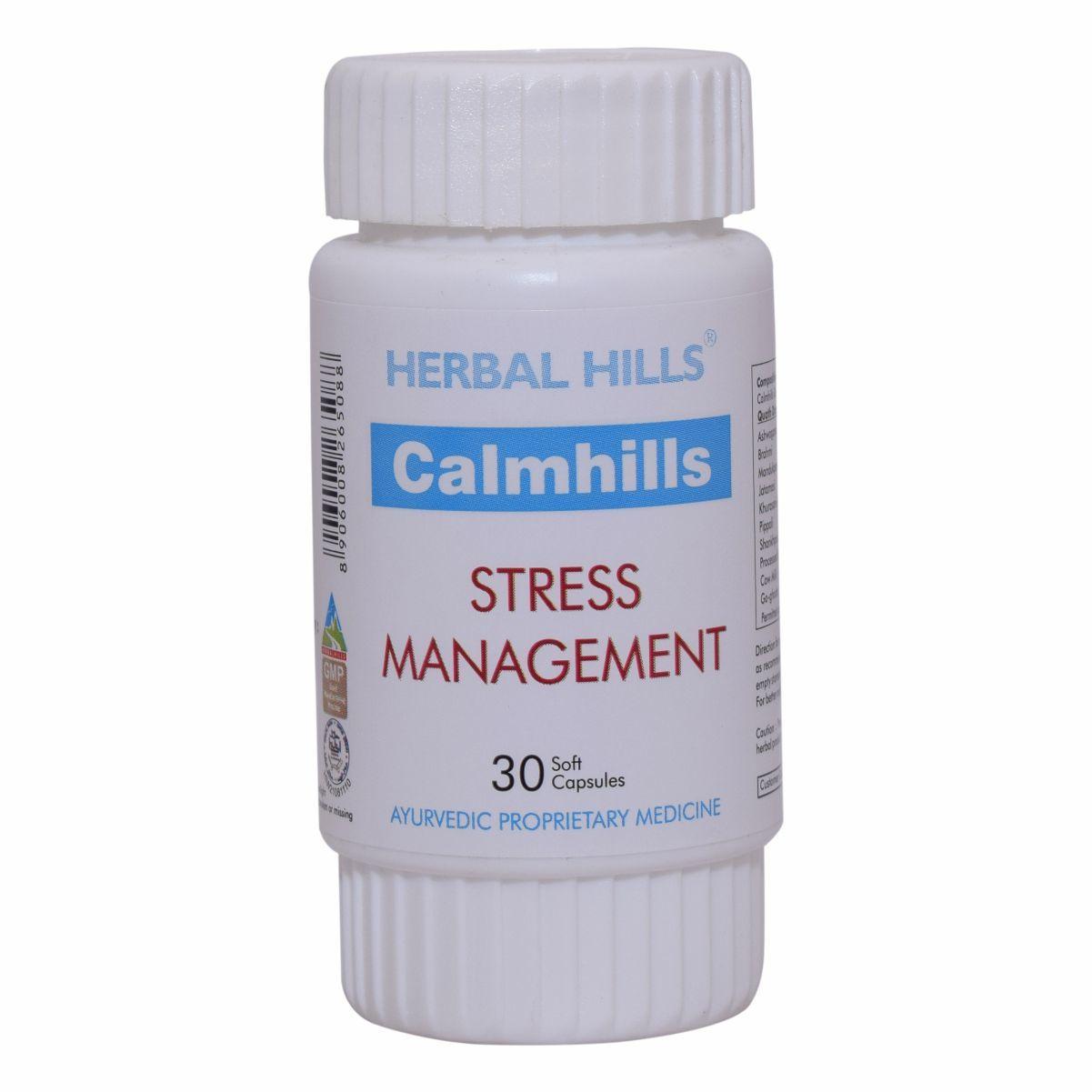 Ayurvedic Medicine for Stress and Depression - Calmhills 30 capsule