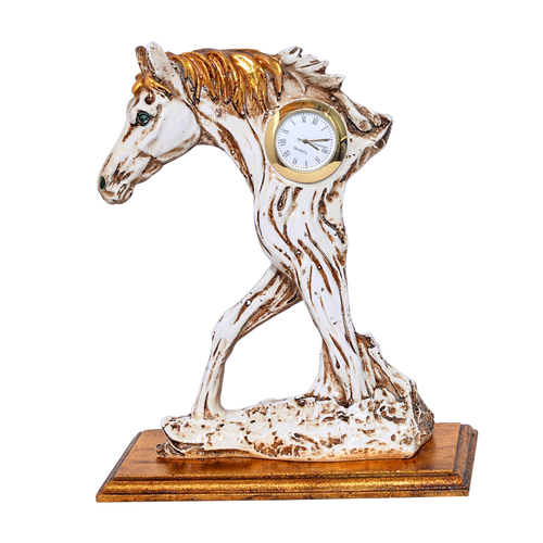 Home Decorative Resin Half Horse Watch