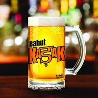 Bahut Kadak | 600ml - Yedaz Matte Finish Glass Bollywood Beer Mug