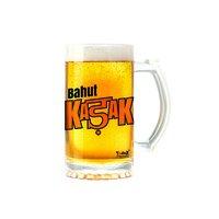 Bahut Kadak   600ml - Yedaz Matte Finish Glass Bollywood Beer Mug