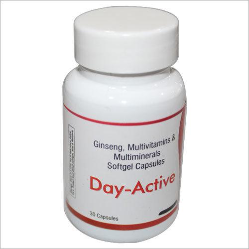 Ginseng Multivitamin Multimineral Capsules