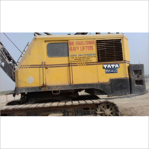 Crawler Crane Rental Service